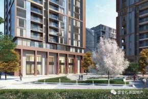 缅因公馆:46万镑起 新金融城地标型高层公寓